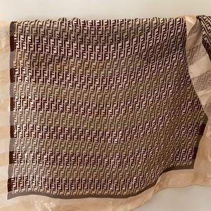Fendi silk scarf BNWOT